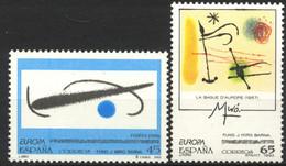 España,1993, Europa, Obras De Juan Mirò, Serie Completa, MNH** - 1991-00 Unused Stamps