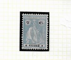 PORTUGUESE GUINEA STAMP - 1922 CERES PERF:12x11½ P.LISO STARS(III-IV) Md#181 MH (LGNE#77) - Guinea Portoghese