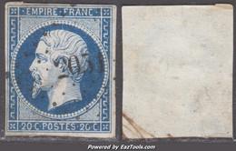 PC 2051 (Mont-sur-Guesnes, Vienne (80)), Cote 10€ - 1849-1876: Classic Period