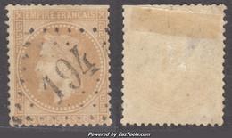 GC 194 (Athis-Mons, Seine-et-Oise (72)), Cote 30€ - 1849-1876: Classic Period