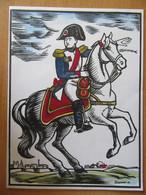 France - Carte 1er Jour Bicentenaire Naissance Napoléon 1769-1969 - Ajaccio Auxonne Brienne-Le-Château - Signée Bruneau - 1960-1969