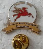 Pin's - Villes - CANNES 1992 - Innover Pour Avancer Ensemble - Signé ARCANE PARIS - - Cities