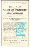 DP Valerie Van Wonterghem ° Lotenhulle Aalter 1856 † 1934 X Richard Van Lerberge - Santini