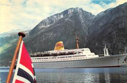 Norvegian America Line - M/S Sagafjord - Steamers