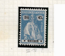 PORTUGUESE GUINEA STAMP - 1925 CERES STARS(III-IV) Md#193 MNH (LGNE#84) - Portuguese Guinea