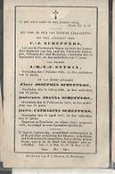 15 08/ W2//  ° MECHELEN?? 1768??  + MECHELEN?  1841  C J SCHEPPERS  SCHEPEN VAN MECHELEN ENZ.. - Religion & Esotérisme