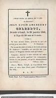 15 08/ W2//  ° GENT??  1769?? + GAND 1849  JEAN LIVIN GELEEDTS - Religion & Esotericism