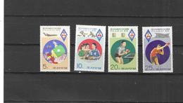 COREA DEL NORTE Nº 1364 AL 1367 - Korea, North
