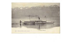 Cpm - Suisse - Lac Léman - Bateau Montreux - 5486 CHARNAUX - Other