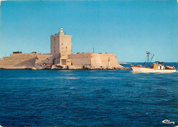 13 - Port De Bouc - Le Fort Vauban - Bateaux - Flamme Postale De Port De Bouc - CPM - Voir Scans Recto-Verso - Altri Comuni