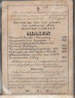 15 08/ W3//  ° BRECHT1789 + BRECHT 1846  JOANNES MASEN  BURGEMEESTER, DEPUTEE, VREDERECHTER - Religion & Esotericism