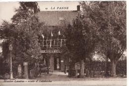 DE PANNE LA PANNE RESTAURANT MOEDER LAMBIC - De Panne