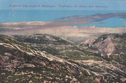 8528) Serpentine Della Strada Di MONTENEGRO - Serpentinen Der Strasse Nach MONTENEGRO - Very Old KOTOR 1913 ! - Montenegro