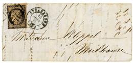 N°3b  Sur Lettre De Strasbourg - 1849-1876: Klassik