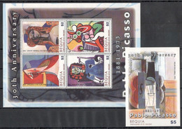 St Vincent (Bequia) - 2004 - Picasso - Yv ??? + Bf ?? - Picasso