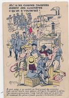 Cpa Illustrateur Maréchaux  Ah Les Cuisines .... - Andere Zeichner