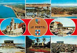 62 - Le Portel - Multivues - Blasons - Automobiles - CPM - Voir Scans Recto-Verso - Le Portel