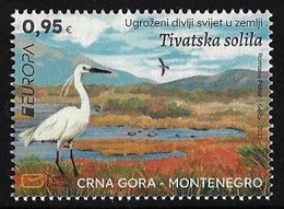"MONTENEGRO /CRNA GORA  -EUROPA 2021 -ENDANGERED NATIONAL WILDLIFE""- SERIE  - N - 2021"