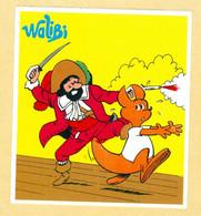 1 Autocollant Walibi (R/V) - Adesivi