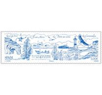 Saint Pierre Miquelon 2021 SPM Exceptional Island LIGHTHOUSE Phare Bird BOAT Ship 1v Mnh - Nuevos