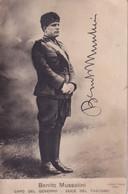 Benito Mussolini  Capo Del Governo  Duce Del Fascismo - Guerra 1939-45