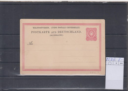 Deutsches Reich Michel Kat.Nr. Ganzsache P8IIb Ungest - Stamped Stationery