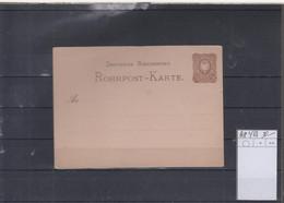 Deutsches Reich Michel Kat.Nr. Ganzsache RP4B Ungest - Stamped Stationery