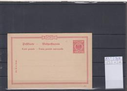 Deutsches Reich Michel Kat.Nr. Ganzsache P25 Ungest - Stamped Stationery