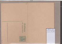 Deutsches Reich Michel Kat.Nr. Ganzsache P104 Ungest - Stamped Stationery