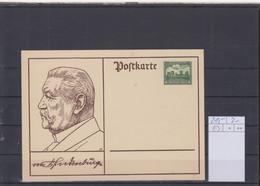 Deutsches Reich Michel Kat.Nr. Ganzsache P213 Ungest - Stamped Stationery