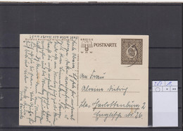 Deutsches Reich Michel Kat.Nr. Ganzsache P287 Gest - Postwaardestukken