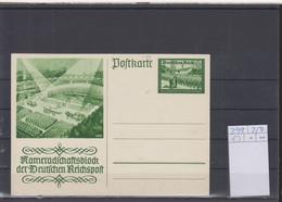 Deutsches Reich Michel Kat.Nr. Ganzsache P292 Ungest - Postwaardestukken
