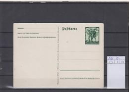 Deutsches Reich Michel Kat.Nr. Ganzsache P268 Ungest - Postwaardestukken