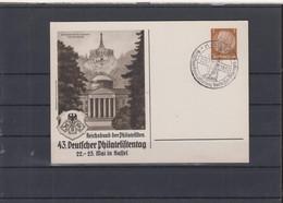 Deutsches Reich Michel Kat.Nr. Ganzsache Privat PP 43. Phila Tag SSt - Postwaardestukken