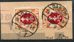 Danzig Mi# 83 Gebraucht/used - Coat Of Arms - Geprüft INFLA Berlin - Dantzig