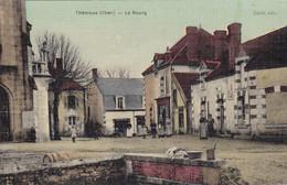 18. THENIOUX. RARETE. CPA COULEUR FACON TOILEE. ANIMATION. LE BOURG - Other Municipalities
