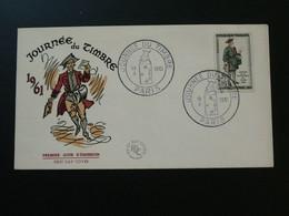 FDC Facteur Histoire Postale Journée Du Timbre 1961 Ref 57097 - 1960-1969