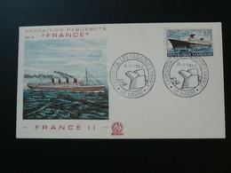 FDC Paquebot France 1962 Le Havre 76 Seine Maritime Ref 57119 - Boten