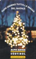 ITALY - Christmas, Alto Adige Sudtirol, Exp.date 30/06/04, Mint - Openbare Reclame