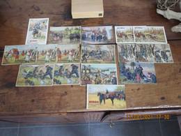 WW1 - 1914-18 - 16 CPA BYRRH - POSTEES POUR MEYMAC CORREZE EPICERIE CHAUSSURES MALAGNOUX - Patriotiques