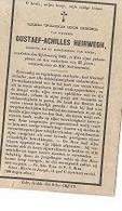 15 08/ W5/   ° ZELE 1842 + ZELE 1865   GUSTAAF HEIRWEGH - Godsdienst & Esoterisme