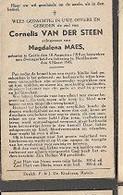 15 08 X1//  W.O.II   °   GOIRLE 1918 BEZWEKEN IN NORDHAUSEN 1945  CORNELIS VAN DER STEEN - Religion & Esotericism