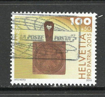 Zwitserland 2015 Mi 2399, Pro Patria, Toeslag,  Gestempeld - Used Stamps
