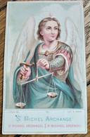 Image Pieuse Religieuse - Saint Michel Archange  - Ed. Turgis, Paris - TBE - Andachtsbilder