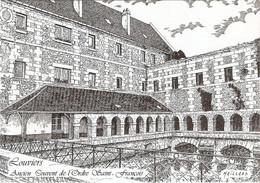 27 Louviers Ancien Couvent De L'Ordre Saint François (Carte Vierge) - Louviers