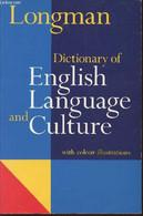 Longman Dictionary Of English Language And Culture - Collectif - 1993 - Dictionaries, Thesauri