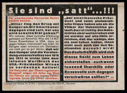 3rd Reich Germany Goebbels Parole Der Woche Propaganda Plakat Sheetlet G72283 - Non Classés