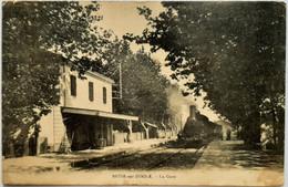 BESSE Sur ISSOLE - La Gare - Besse-sur-Issole