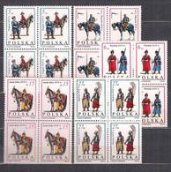 POLAND 1983 TROOPS OF KING JAN III SOBIESKI Set BLOCK Of 4 MNH - Unused Stamps