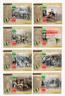 ITALIA - 2011 - 8 Foglietti - I Protagonisti Dell'Unità D' Italia - Nuovi ** - (FDC31461) - Blocks & Sheetlets